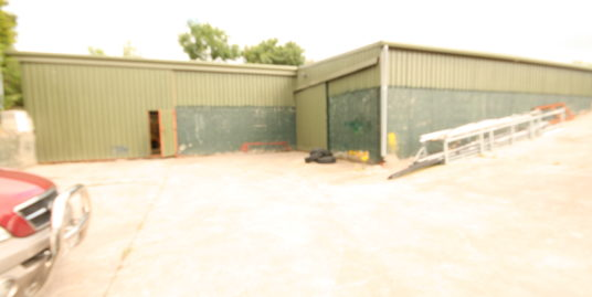 Commercial Warehouse with potential site