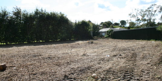 Serviced Site for Sale Tallow
