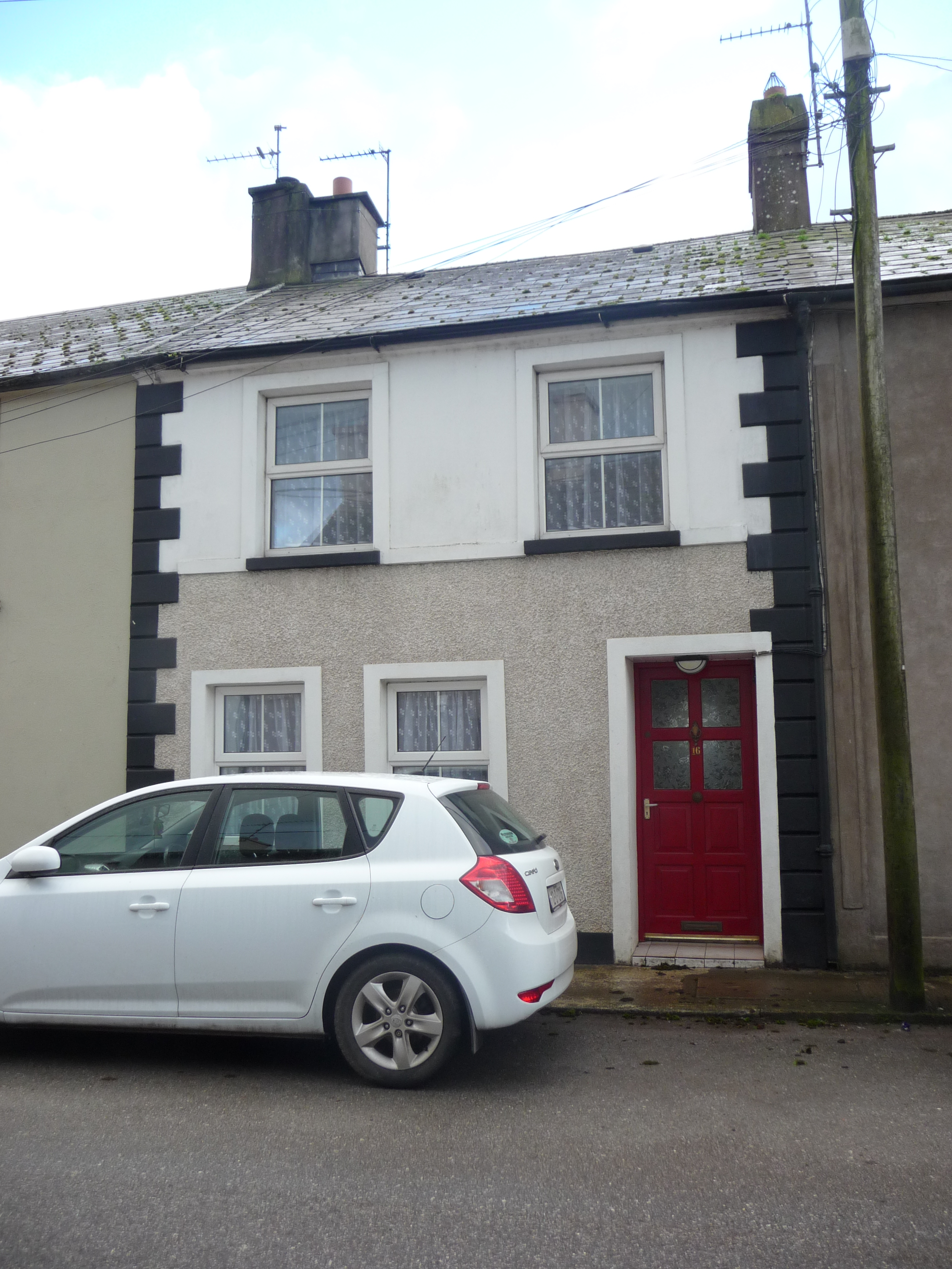 three bedroom town house